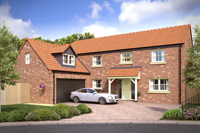 New Houses of sale at Farefield Close Dalton Thirsk